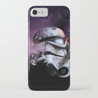 stormtrooper iPhone & iPod Cases featuring Stormtrooper by Ruveyda & Emre