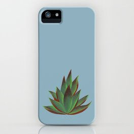 Red and Green Aloe Vera Plant iPhone Case