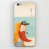 beach iPhone & iPod Skins featuring Beach by Seaside Spirit