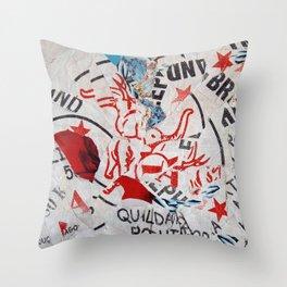 Riz, Menthe et Réglisse Throw Pillow