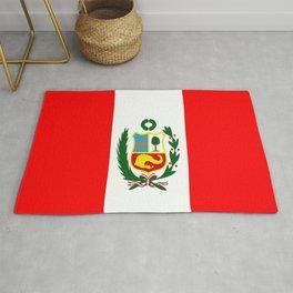 Flag of Peru Rug