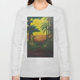 Day in the wetlands Long Sleeve T-shirt