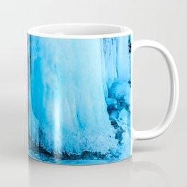 Ice curtain of the lake Baikal Coffee Mug