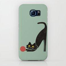 Fitz - the curious cat Galaxy S7 Slim Case