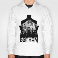 gotham Hoodies featuring Gotham by Vitalitee