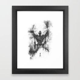 The Iron Intruder Framed Art Print
