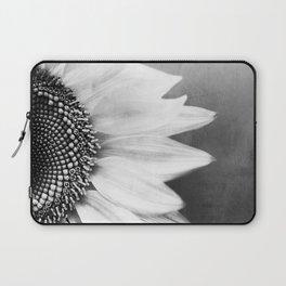 B&W Sunflower Laptop Sleeve