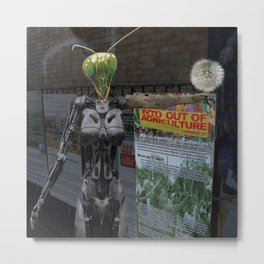 Stopp GMO Metal Print