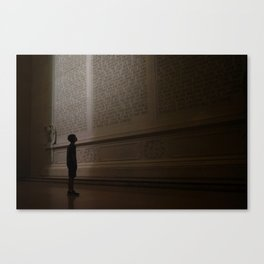 For Us, the Living Canvas Print