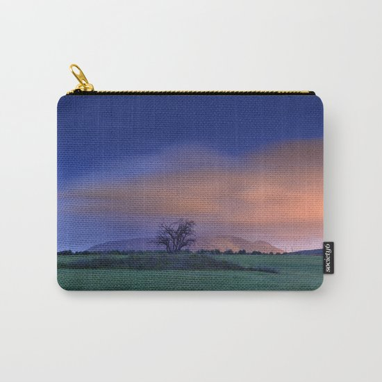 """Blue night"" Carry-All Pouch"