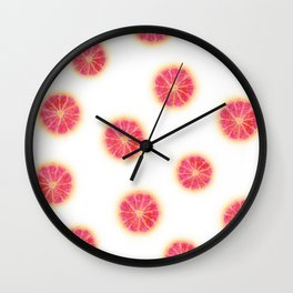 RUBY RED GRAPEFRUIT Wall Clock