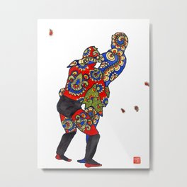 Thomas Metal Print