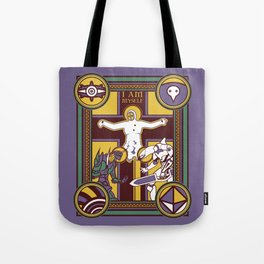 Illuminated Evangelion Tote Bag