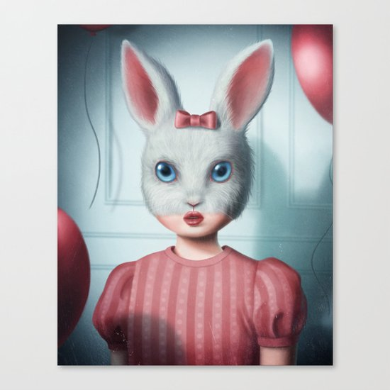 The lonely party Canvas Print