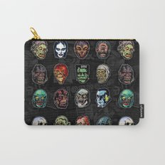 Horror Movie Monster Masks (color) Carry-All Pouch