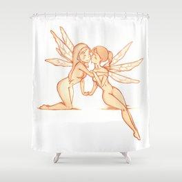 Fae love Shower Curtain