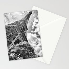 Eiffel Tower in Paris, France Stationery Cards