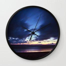 Magic Henne Beach on the West Coast of Denmark Wall Clock