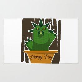 Cactus Grumpy Boy Rug