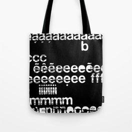letraset Tote Bag