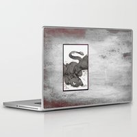 toothless Laptop & iPad Skins featuring Toothless by SpaceMonolith
