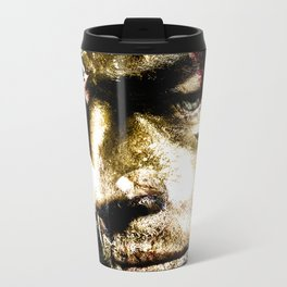 Todd's Mask Metal Travel Mug