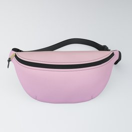 A gentle gradient in pink. Fanny Pack