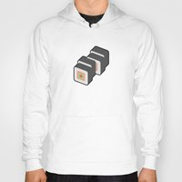 sushi Hoodies featuring Sushi by Paul Goerne