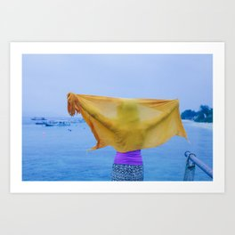 GILI DREAM Art Print