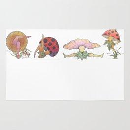 Fungi Faeries Rug
