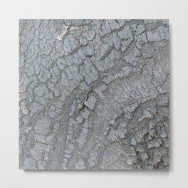 TEXTURES -- California Bay Tree Bark Metal Print