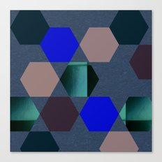Art Rhombus Canvas Print