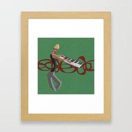 Jazz Trio - Pianist Framed Art Print