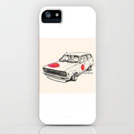 Crazy Car Art 0174 iPhone Case