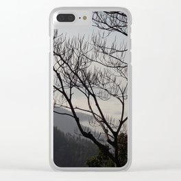 Trees and Mountains - Sindhuli, Nepal Clear iPhone Case