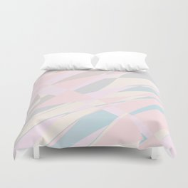 abstract pink background Duvet Cover