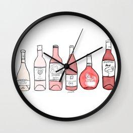 Summer of Rose Wall Clock