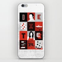 dexter iPhone & iPod Skins featuring Dexter by Bill Pyle