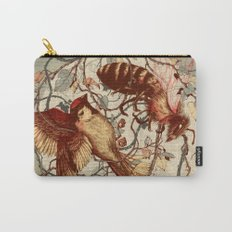 Honey & Sorrow (grey) Carry-All Pouch