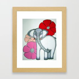 Wonderphant Framed Art Print