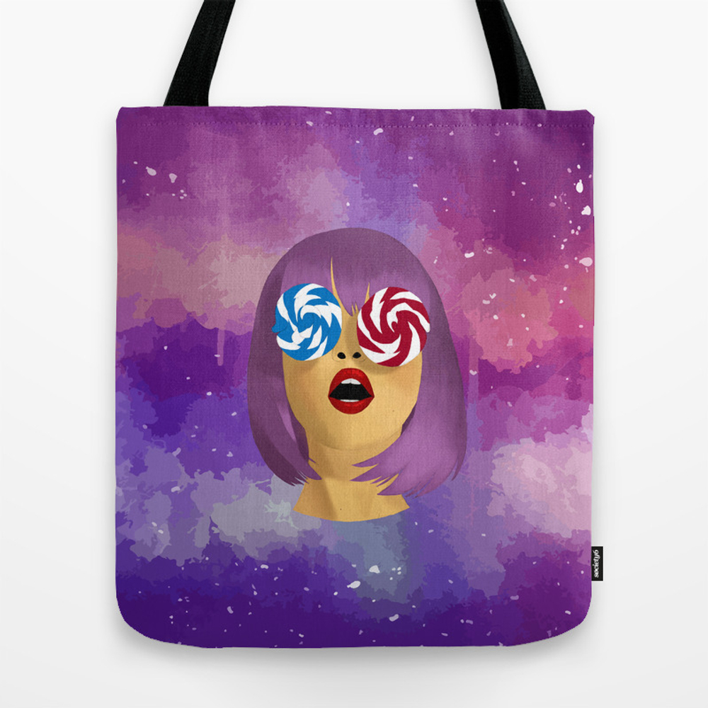 Candy Girl Tote Purse by Anacsr (TBG9627952) photo