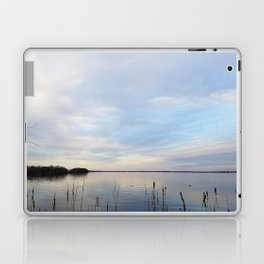 Twilight Serenity - Clouds and reflections on University Bay Laptop & iPad Skin