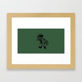 Hero Izuku Midoriya Framed Art Print