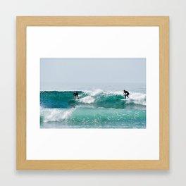Surf II Framed Art Print