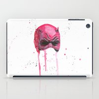daredevil iPad Cases featuring Daredevil by McCoy