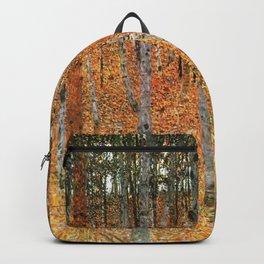 Gustav Klimt Beech Grove Backpack
