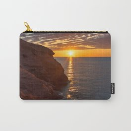 Seacow Head Sunset Carry-All Pouch