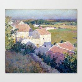 Willard Metcalf Midsummer Twilight Canvas Print