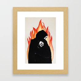 Lit Me Up Framed Art Print