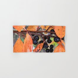 Choke Berries in Autumn Hand & Bath Towel